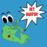 hey harper rant logo